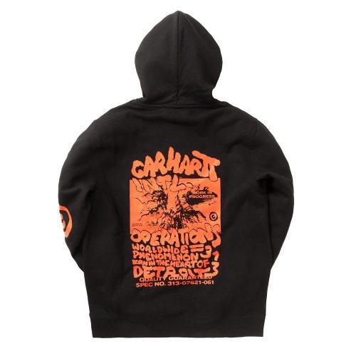 Carhartt WIP Hooded International Operations Sweatshirt