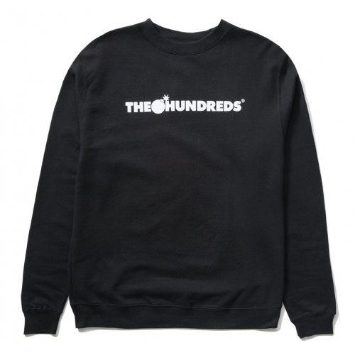 The Hundreds Forever Bar Logo Crewneck