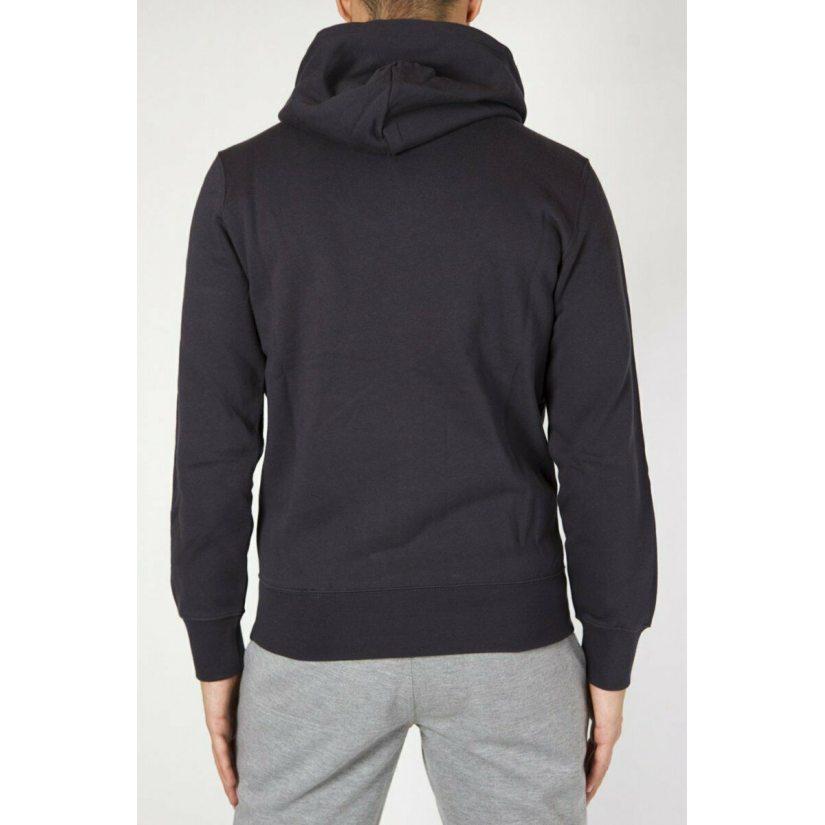 Champion Logo Hooded Full Zip Sweatshirt