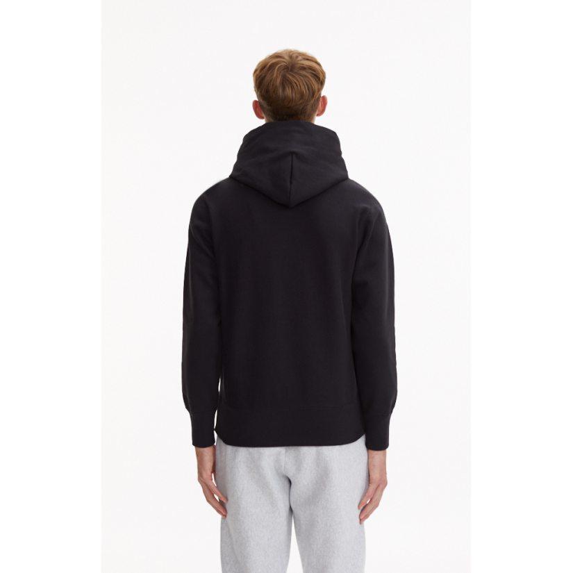 Reverse Weave Hooded Sweatshirt