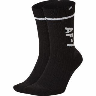 Nike U SNKR SOX AF1 CREW 2PR