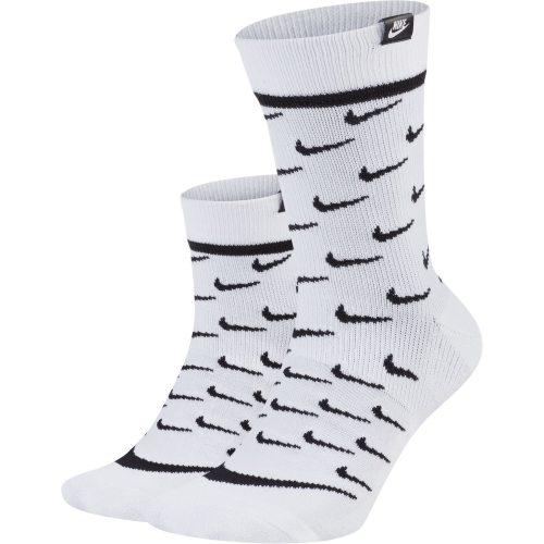 Nike U SNKR SOX CREW 2PR - TRANSPAR