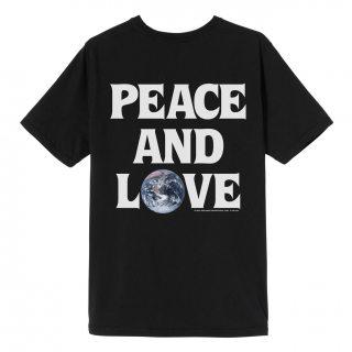 Stussy PEACE & LOVE PIG. DYED TEE